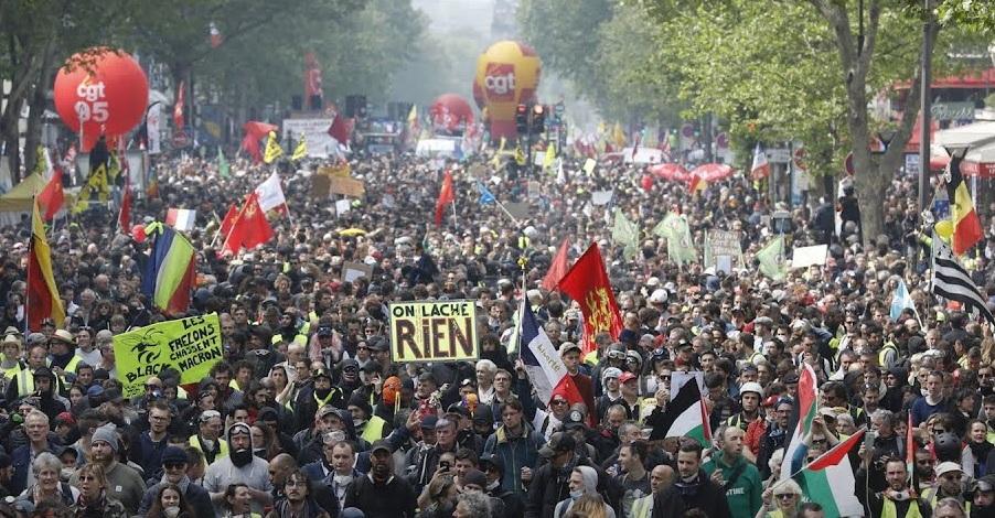 Resultado de imagen para huelga francia diciembre 2019
