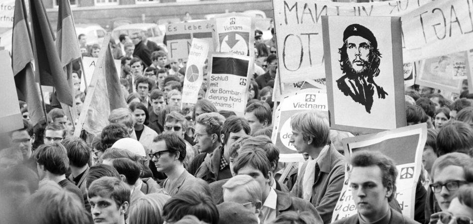 Protesta contra la guerra de Vietnam