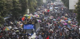 protestas tailandia