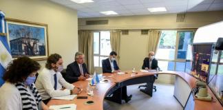 Reunión Alberto Fernández Gobernadores covid