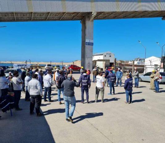 Huelga remolcadores de puertos