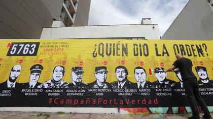 """Militares colombianos """"falsos positivos"""""""