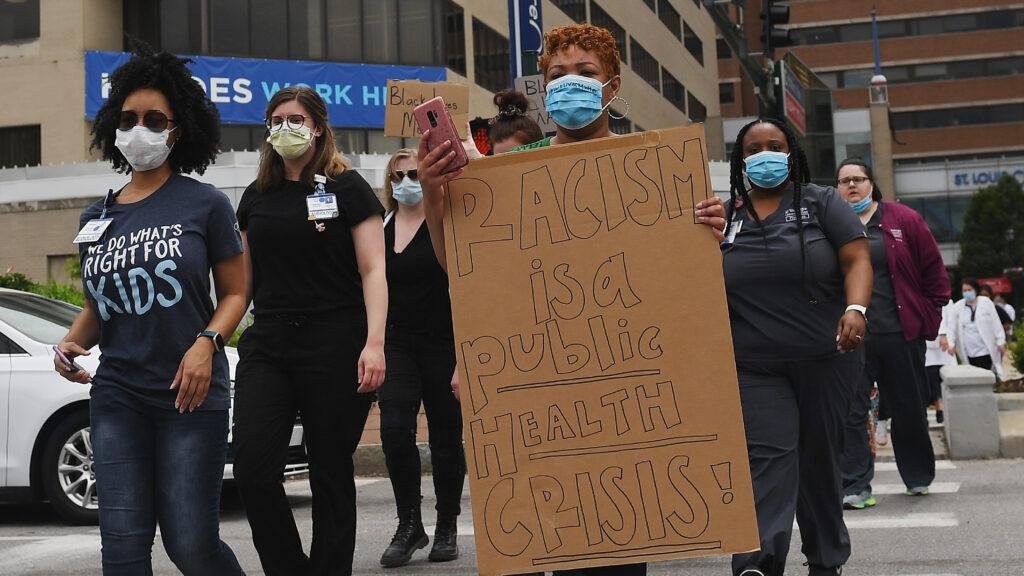 Manifestación antirracista