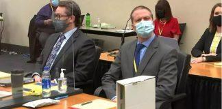 Derek Chauvin en juicio