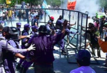 Represión en Formosa
