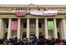 Trabajadores Teatros Francia
