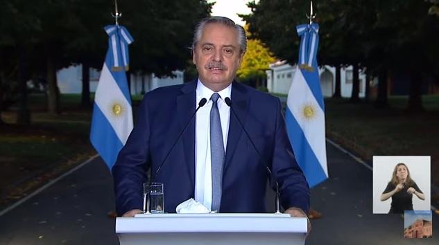 Fernández Conferencia de prensa