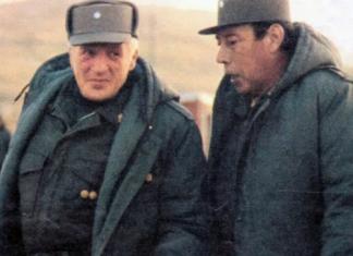 Galtieri en Malvinas