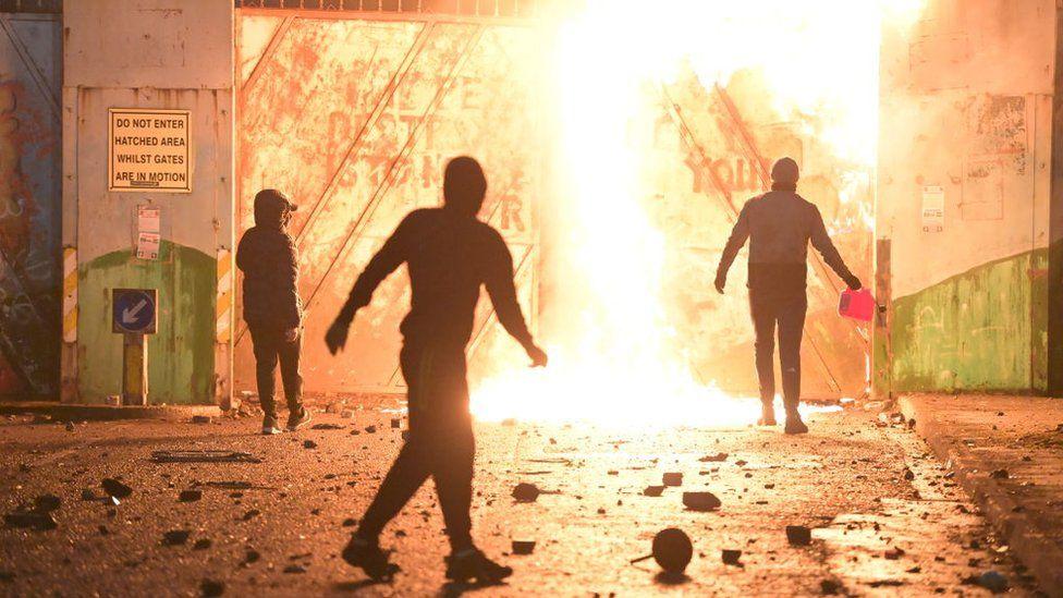 Disturbios Irlanda del Norte