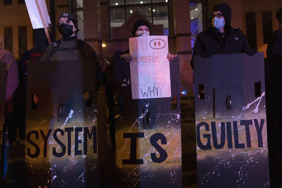 Las manifestaciones en Ohio