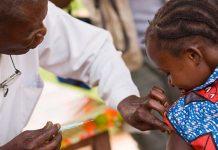 vacunacion en africa