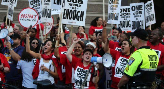 Estados Unidos: desigualdad, pobreza y precarización en una ...