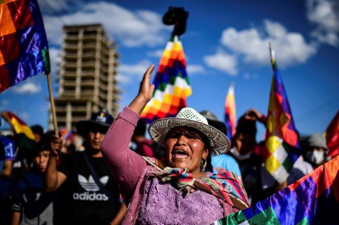 bolivia bandera whipala