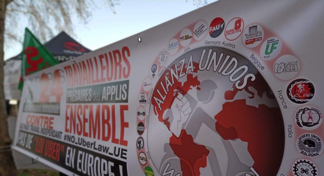 Trabajadores de Apps Francia