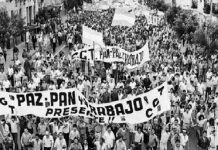Huelga contra la dictadura