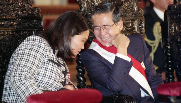 Keiko y Alberto Fujimori