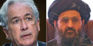 William Burns y Abdul Ghani Baradar