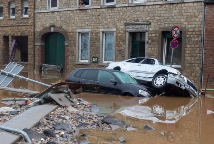 Inundaciones en Tennessee